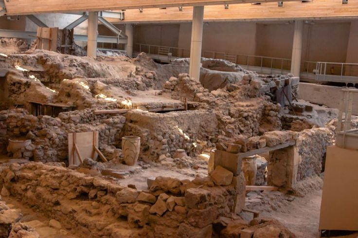 Santorini's 'Akrotiri' Site to be Presented in Athens Event