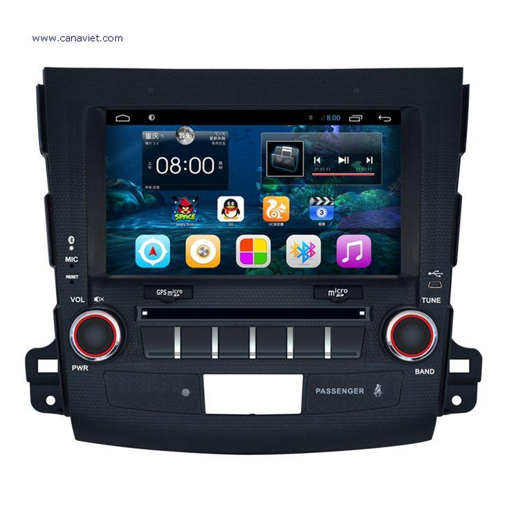 android autoradio headunit car stereo radio audio dvd gps navigation head unit car multimedia gps mitsubishi outlander 2006 2007 2008 2009 2010 2011 2012