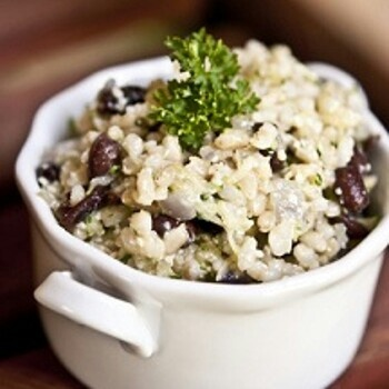 Black bean and rice salad | Munchtown | Pinterest