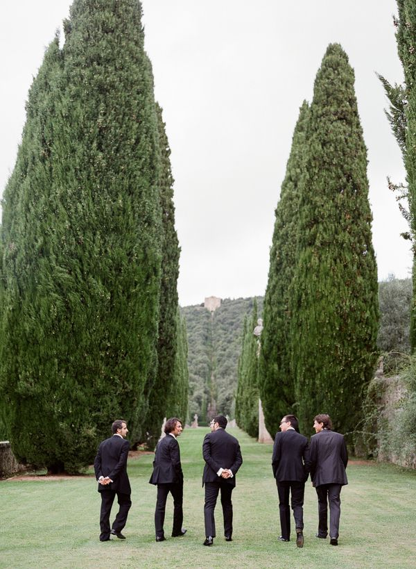 Intimate Italian Wedding at Villa Cetinale via oncewed.com