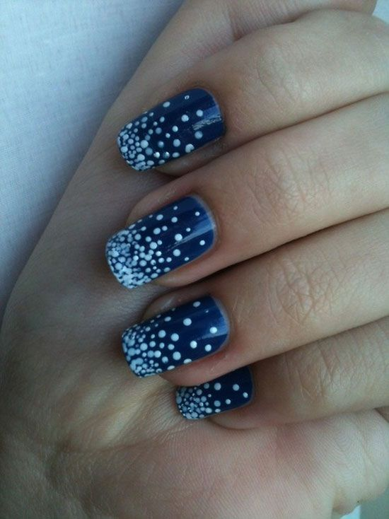 simple easy winter nail art designs ideas 20122013 epublicityprcom