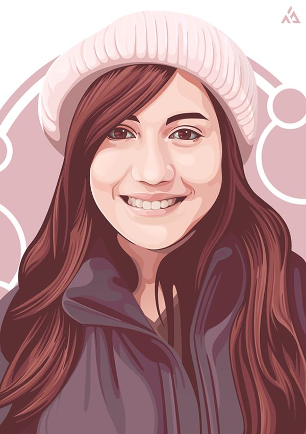 Vector Art and Design by http://keithhoffart.weebly.com - Vector Portrait