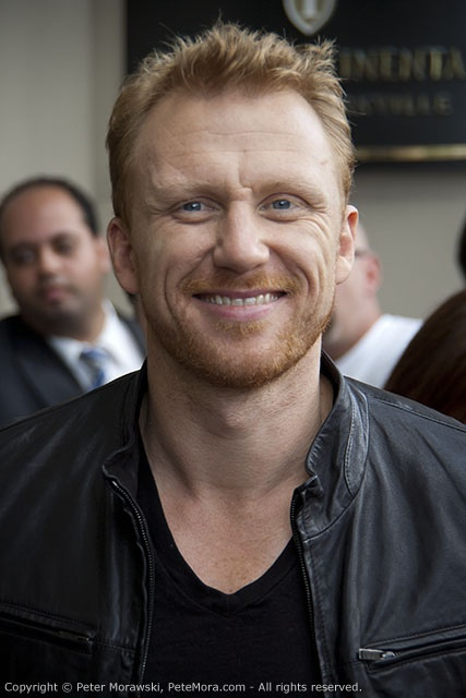 So, unfortunately, I've been on a Grey's Anatomy constant marathon, and Kevin McKidd is my fav :)