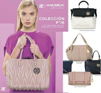 Nuevas Bolsas y Accesorios Andrea 2016. Moda de primavera para mujer.