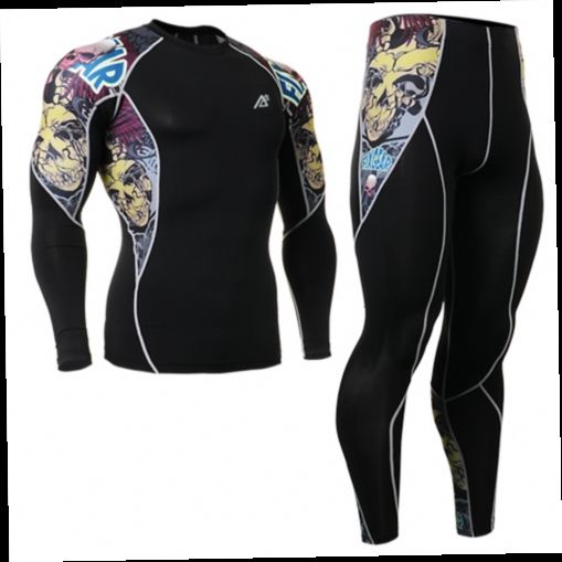 49.90$  Watch here - http://alibyh.worldwells.pw/go.php?t=32391516439 - 2016 cycling clothing set sports clothing set top leopard sports sets tattoo design leggings ropa de segunda mano online 49.90$
