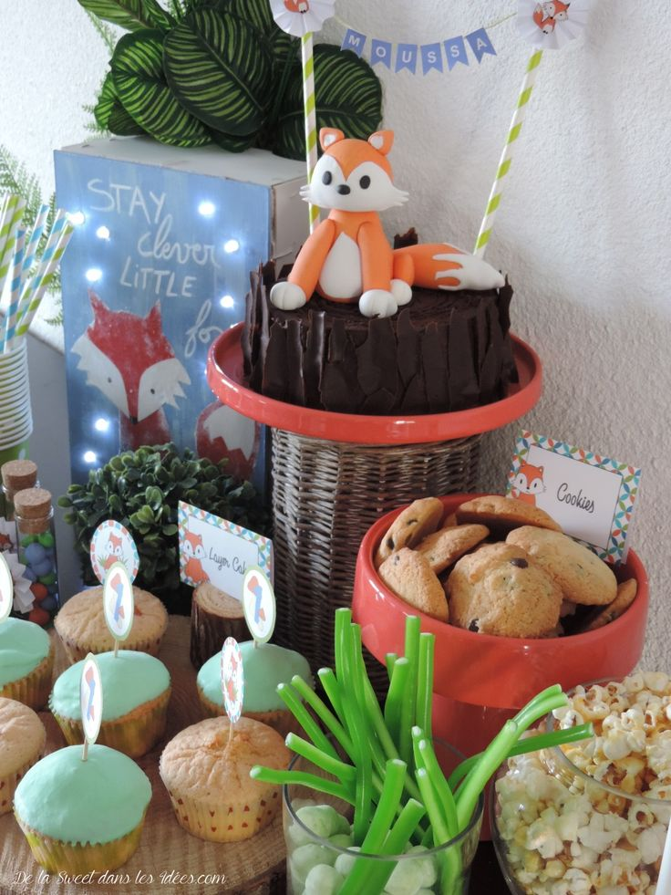 Sweet table petit renard