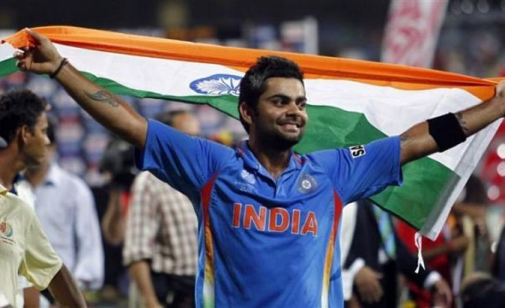 Fan of Virat Kohli arrested for hoisting Indian flag in Pakistan