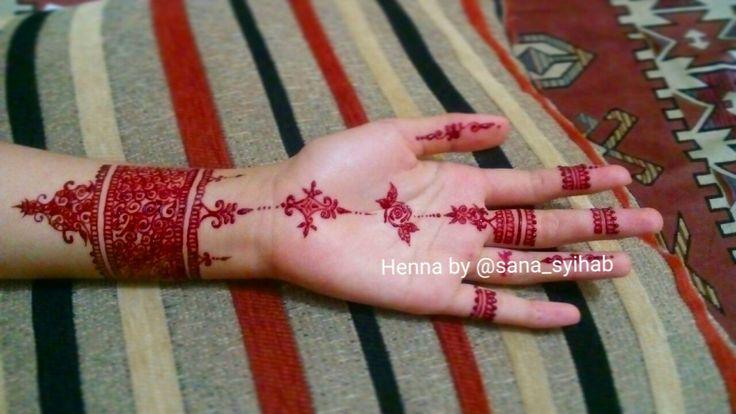 #henna #mehndi #hennaartbysana