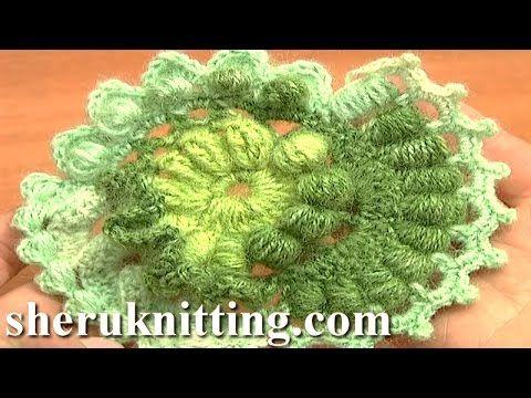 Freeform Crochet Scrumble Pattern Tutorial 3 Part 1 of 2 Free Form Crochet Designs - YouTube