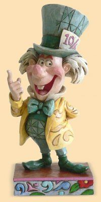 Enesco Disney Traditions by Jim Shore Alice In Wonderland Mad Cap Mayhem from Fantasies Come True