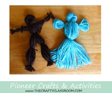 Pioneer Crafts for Kids