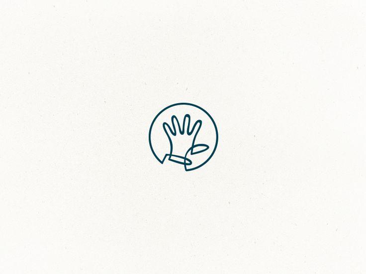 Logo. Handcrafted - digital done by hand. ~Floris Voorveld