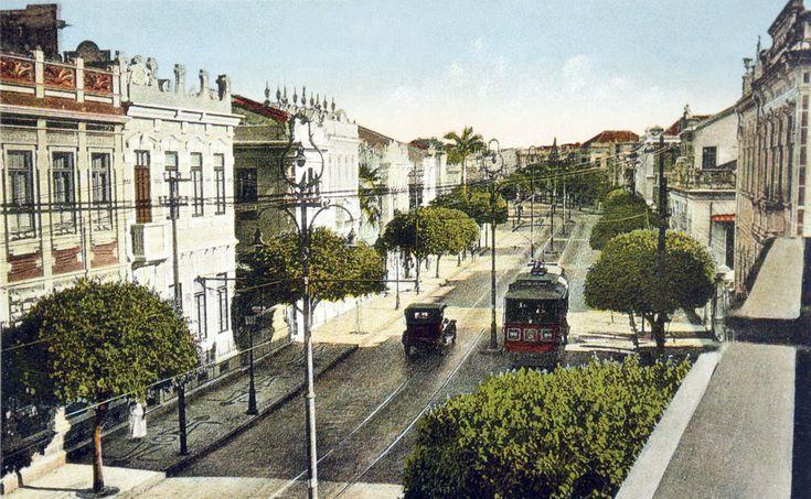 Corredor da Vitoria - Salvador em 1925