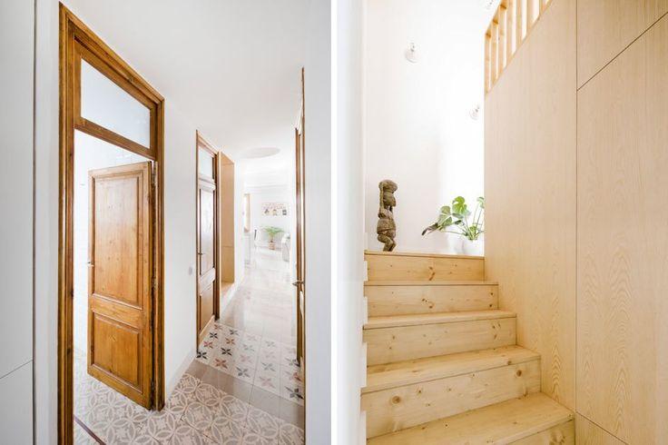 A los que os gusta vivir en la ciudad y los áticos especialmente, os va a encantar este dúplex de 110m² de vivienda con otros 60m² de terraza, en San Antoni, Barcelona.