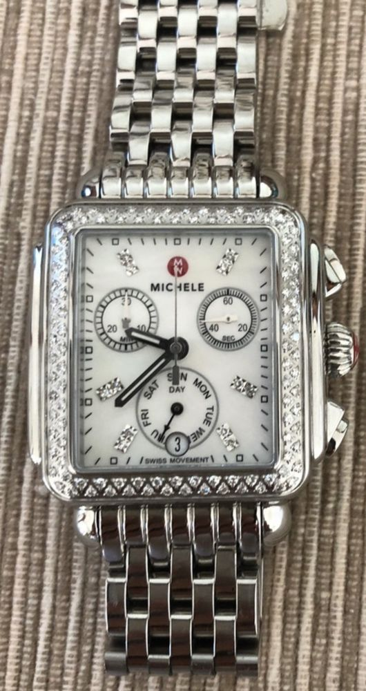 216768ec7f3 Michele Deco MWW06P000099 Wrist Watch for Women