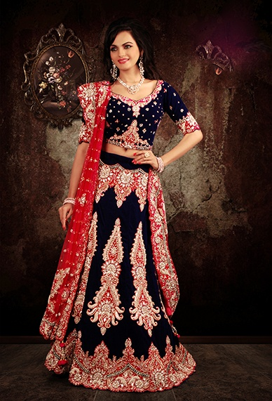 Designer Wedding and Party Lehenga. Buy any #Indian #Designer #Lehenga Get Free Shipping World-Wide.