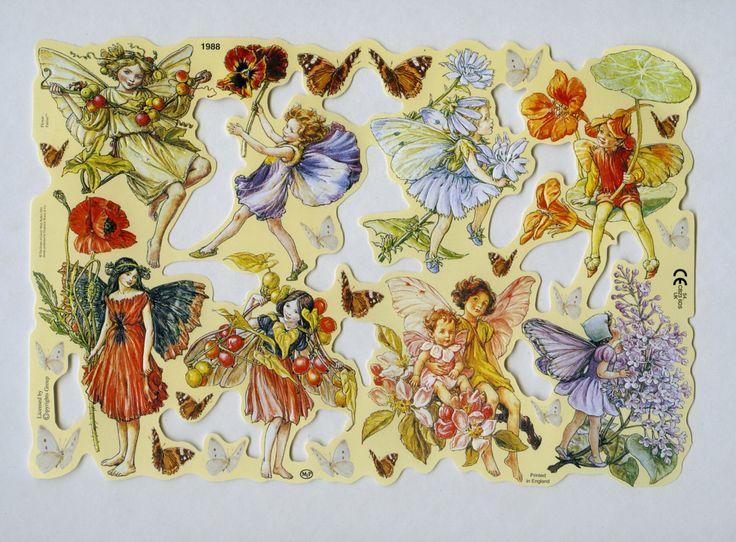 Cette feuille de reliefs scrap dispose dune variété de fées des fleurs magnifiquement illustré par lillustrateur anglais Cicely Mary Barker (1895-1972) qui a été connu pour ses dessins de fantaisie de fées et de fleurs. Images ont beau détail relief & imprimé et beau regard sur cartes, étiquettes, dans les albums de découpures, collages, decoupaged sur papier mâché cadeau ou objets, attachés à cadeaux emballés, etc. en bois. Importés directement dAngleterre. Beaucoup de conceptions plus...