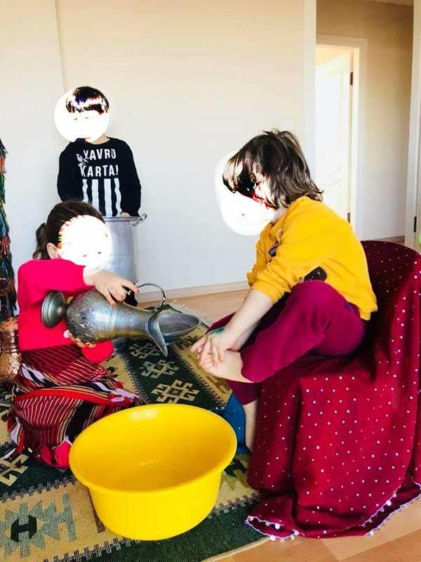 Özel Çınar Anaokulunda skandal görüntüler