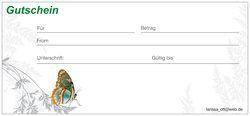 Schau Dir das Produkt Geschenkgutscheine an, das ich bei Vistaprint erstellt habe! Individuelle Gestaltung Ihrer eigenen Geschenkgutscheine um http://www.vistaprint.de/gift-certificates.aspx.  Holen Sie sich individuelle farbige Visitenkarten, Banner, Schecks, Weihnachtskarten, Briefpapier, Adressetiketten...