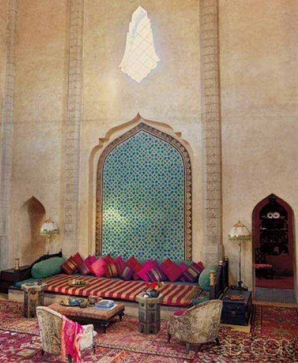 pillows and islamic art - LOVE LOVE LOVE!