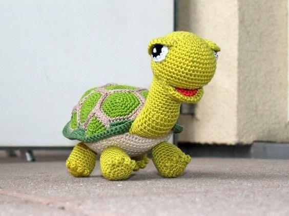 Schildkröte jetzt häkeln // DIY Amigurumi PDF