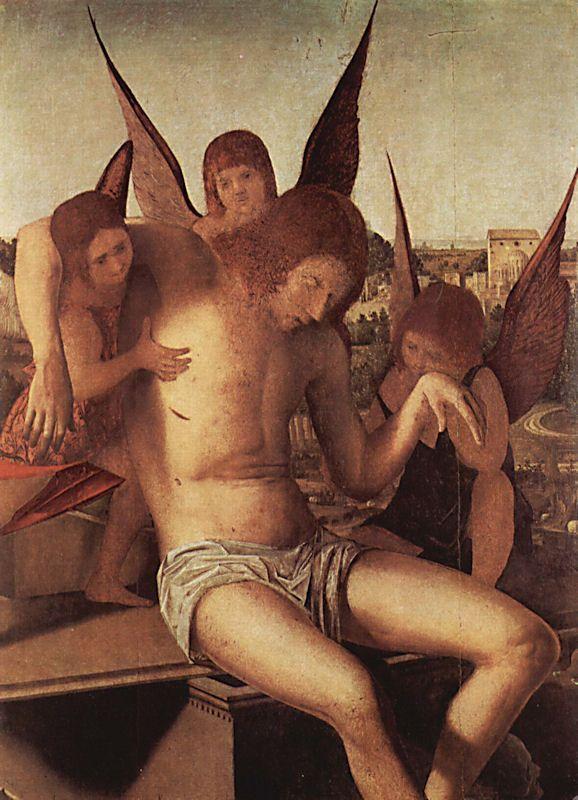 ANTONELLO DA MESSINA (1430 - 1479) | Pieta