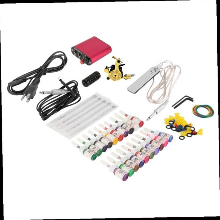 46.76$  Watch here - http://ali7o5.worldwells.pw/go.php?t=32740154163 - ITATOO Tattoo Kit Cheap Tattoo Machine Set a Pen Kit Tattooing Ink Machine Gun Supplies For Jewelry Weapon Professional PX110008