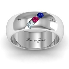 Pluto Mens Gemstone  Ring #jewlr