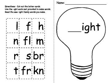 11 best ight word activities images on Pinterest