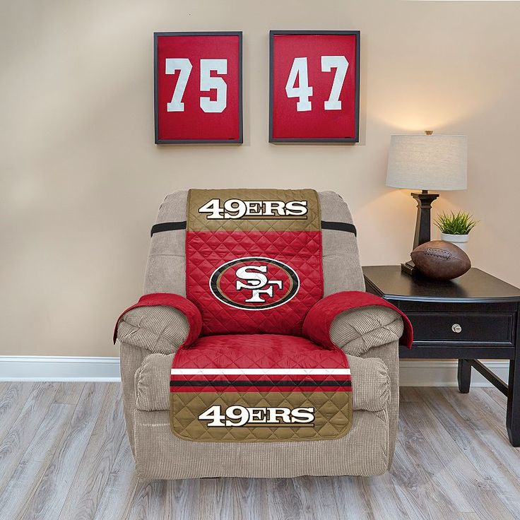 San Francisco 49ers Quilted Recliner Chair Cover Multicolor & Die besten 25+ Recliner chair covers Ideen auf Pinterest | Fauler ... islam-shia.org