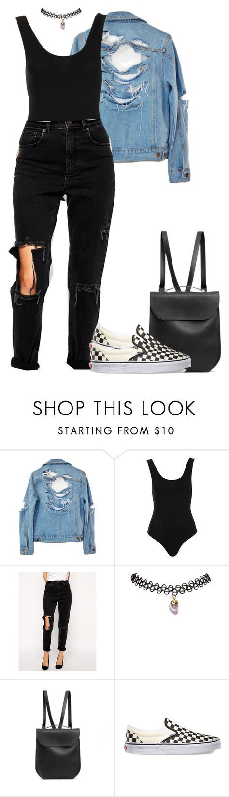 """""""Untitled #187"""" by styledbykayj ❤ liked on Polyvore featuring High Heels Suicide, Topshop, ASOS, Wet Seal, GRETCHEN and Vans"""