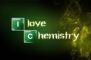 I Love Chemistry Wallpaper