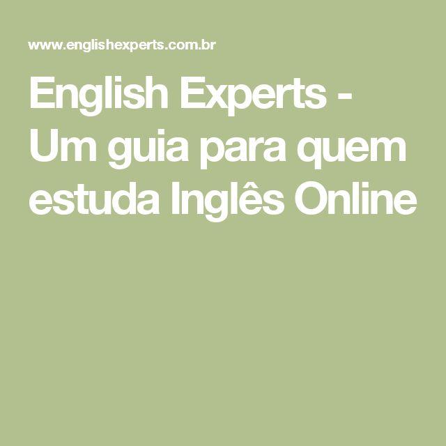 English Experts - Um guia para quem estuda Inglês Online