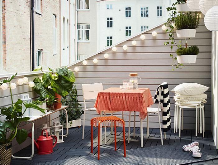 decoracion de terrazas ikea con encanto