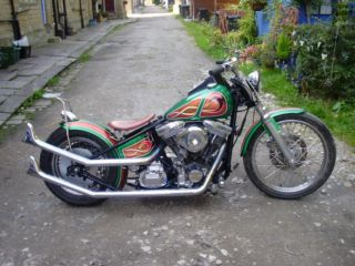 Fat Bobbers Motorcycle Fabricator,Engineer,Customwork,Resprays,Hand Tooled Leather Seats. West Yorkshire Picture 1