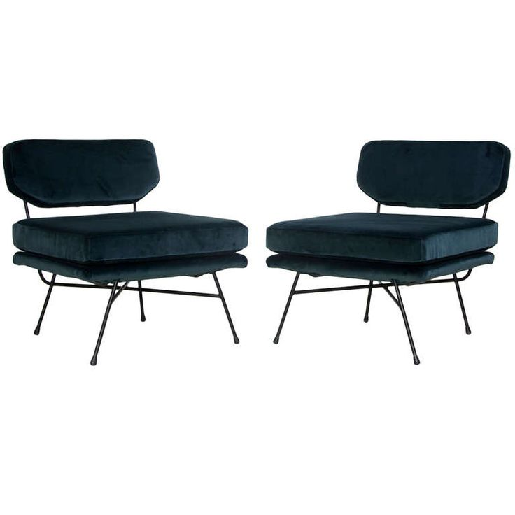 Pair of Elettra Lounge Chairs by Studio B.B.P.R. for Arflex ca.1953