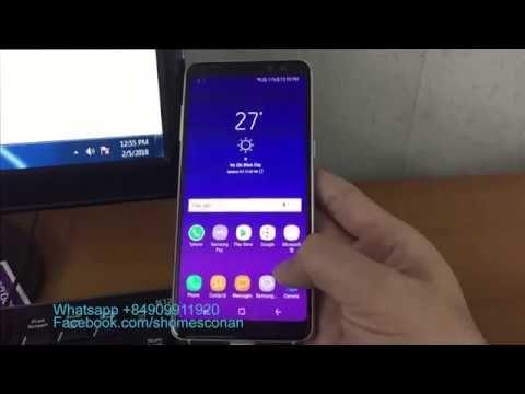 Remove google account FRP lock Samsung Galaxy A8 2018 A530F
