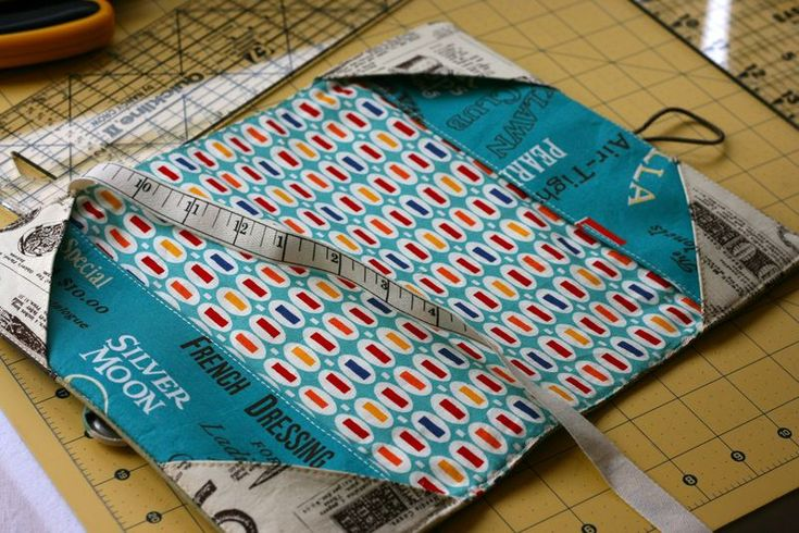 Book Cover Sewing Quarter ~ Smart design for a book cover hardcover and