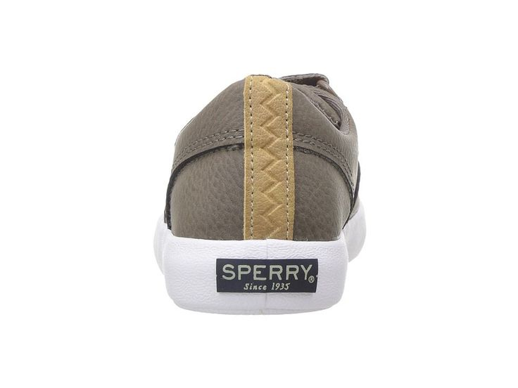 Sperry Kids Wahoo JR. (Toddler/Little Kid) Boys Shoes Truffle Leather