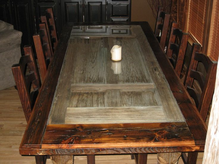 Best 25 Barnwood Dining Table Ideas Only On Pinterest
