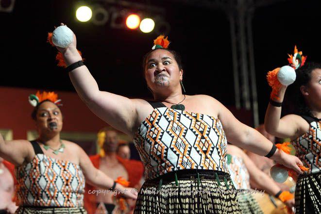 52ο Διεθνές Φεστιβάλ Φολκλόρ. (17-24/08/2014). Te Alikaaroa Kapa haka. Maori. New Zealand.