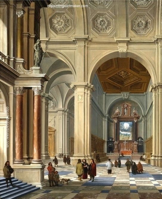 15 best bartholomeus van bassen images on pinterest buns for Dutch baroque architecture