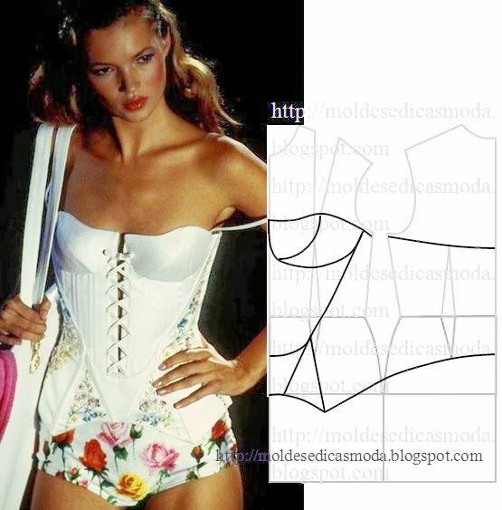 Plantillas de moda para Medida: TRANSFORMACIÓN DE BLUSA - 19