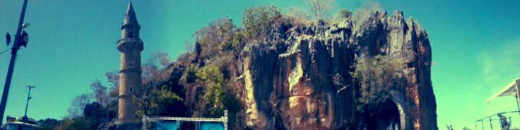 Foto da gruta de Bom Jesus da Lapa - Bahia