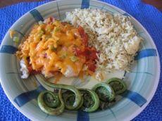 Tilapia en papillote au BBQ ou au four #recettesduqc #poisson #souper