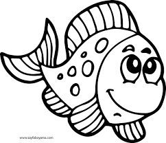 Deniz Kabuğu Boyama Googleda Ara Deniz Fish Coloring Page