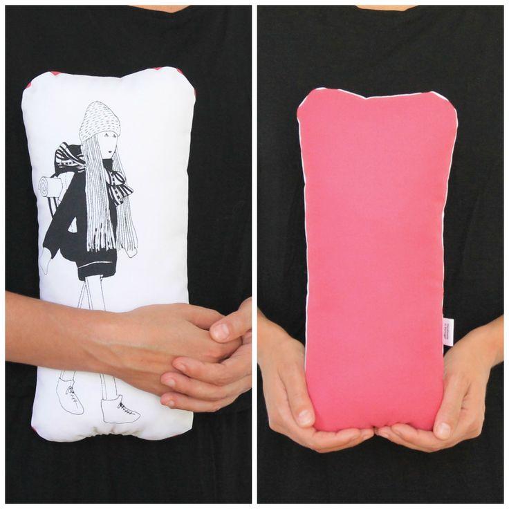 The Backpacker - black and pink #fulanabeltranasicrana http://etsy.me/1QYKAZJ