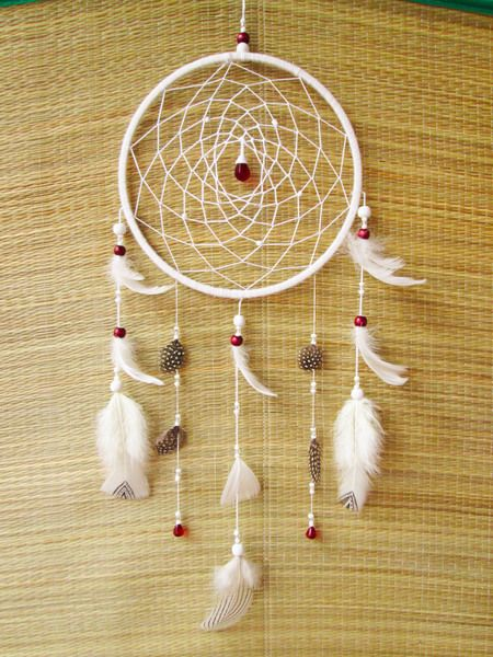 Dream Catcher/ Dreamcatcher/ White