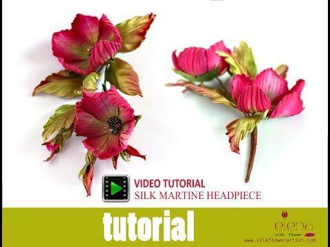 Elena-the Silk Flower Artist ❤ https://www.youtube.com/watch?v=A9ZGkpR0LhY