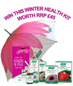 A.Vogel Winter Health Kit to help beat colds & flu - enter this fab competition.  Be lucky!!